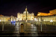 Orizzonte di San Pietro Rome Fotografia Stock Libera da Diritti