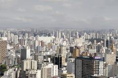 Orizzonte di Sao Paulo Immagine Stock