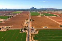 Orizzonte di Scottsdale e di Phoenix Fotografia Stock