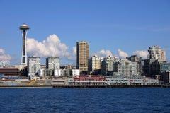 Orizzonte di Seattle Fotografia Stock Libera da Diritti