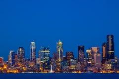 Orizzonte di Seattle Immagine Stock