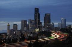 Orizzonte di Seattle Immagini Stock Libere da Diritti