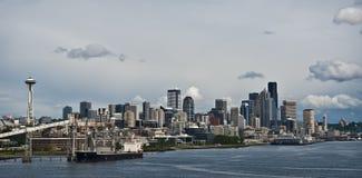 Orizzonte di Seattle, Washington Fotografie Stock Libere da Diritti