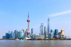 Orizzonte di Shanghai Fotografia Stock Libera da Diritti