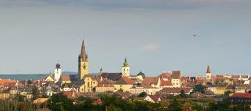 Orizzonte di Sibiu Immagine Stock Libera da Diritti