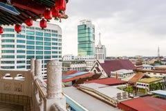 Orizzonte di Sibu Fotografie Stock