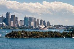 Orizzonte di Sidney fotografia stock libera da diritti