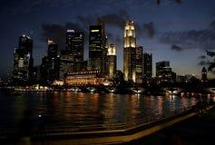 Orizzonte di Singapore Immagini Stock