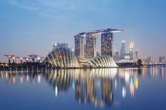 Orizzonte di Singapore immagine stock