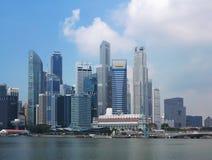 Orizzonte di Singapore Fotografia Stock Libera da Diritti