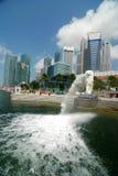 Orizzonte di Singapore Immagini Stock Libere da Diritti