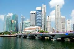 Orizzonte di Singapore fotografie stock libere da diritti
