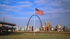 Orizzonte di St. Louis, Missouri archivi video