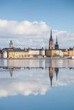 Orizzonte di Stoccolma Immagini Stock
