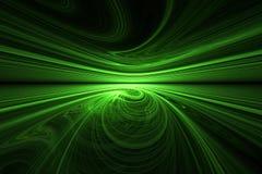 Orizzonte di Swirly Fotografia Stock