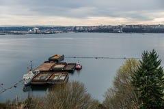 Orizzonte di Tacoma Immagini Stock Libere da Diritti