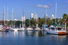 Orizzonte di Tampa Fotografie Stock