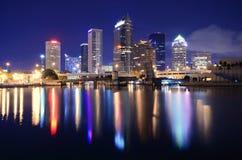 Orizzonte di Tampa Bay Fotografia Stock