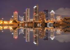 Orizzonte di Tampa Bay Fotografia Stock Libera da Diritti