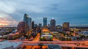 Orizzonte di Tampa Florida video d archivio
