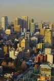 Orizzonte di Tokyo Immagine Stock