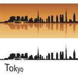 Orizzonte di Tokyo Fotografie Stock Libere da Diritti