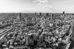Orizzonte di Tokyo Fotografia Stock Libera da Diritti