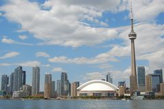 Orizzonte di Toronto Fotografie Stock Libere da Diritti