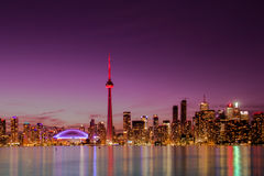 Orizzonte di Toronto Fotografia Stock