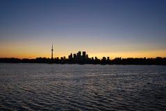 Orizzonte di Toronto Fotografia Stock Libera da Diritti