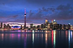 Orizzonte di Toronto immagine stock libera da diritti