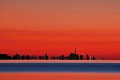 Orizzonte di Toronto Immagine Stock