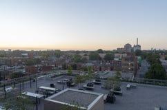 Orizzonte di Toronto al tramonto 2 Immagini Stock