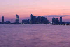 Orizzonte di tramonto illustrazione di stock