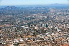 Orizzonte di Tucson Fotografia Stock
