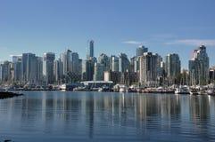 Orizzonte di Vancouver Fotografia Stock