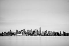 Orizzonte di Vancouver immagini stock