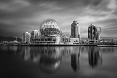 Orizzonte di Vancouver Immagine Stock