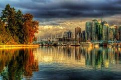 Orizzonte di Vancouver Fotografia Stock Libera da Diritti