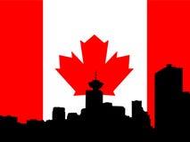 Orizzonte di Vancouver illustrazione di stock