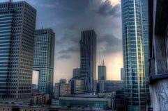 Orizzonte di Varsavia Fotografia Stock Libera da Diritti