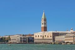 Orizzonte di Venezia Fotografia Stock