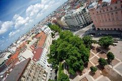 Orizzonte di Vienna fotografia stock libera da diritti