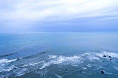 Orizzonte di vista sul mare Fotografie Stock Libere da Diritti