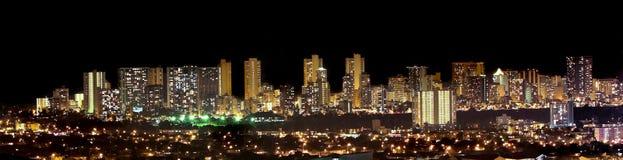Orizzonte di Waikiki Fotografia Stock Libera da Diritti