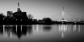 Orizzonte di Winnipeg Fotografie Stock