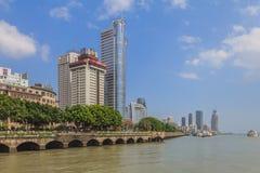 Orizzonte di Xiamen Fotografie Stock