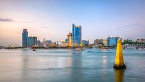 Orizzonte di Xiamen, Cina immagine stock libera da diritti