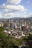 Orizzonte e costruzioni di Caracas Fotografia Stock Libera da Diritti