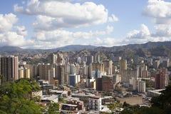 Orizzonte e costruzioni di Caracas fotografie stock libere da diritti